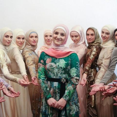 В Грозном дочь Рамзана Кадыр…
