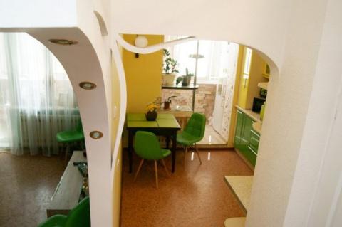Ремонт 1-комнатной квартиры — хотелось что-то свое, яркое, необычное и неповторимое. И вот что получилось!