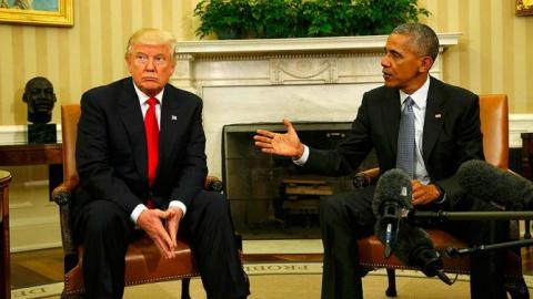 Штаб Трампа вынес жесткое предупреждение Обаме