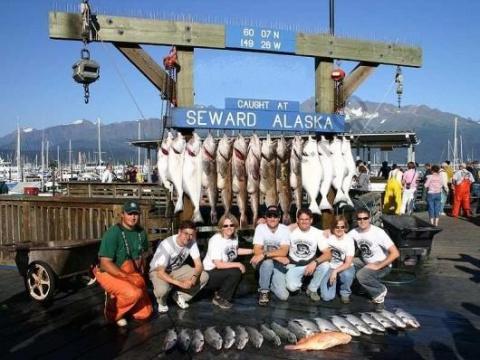 Аляска отправила в нашу страну рыбы и морепродуктов более чем на 60 млн. долларов!
