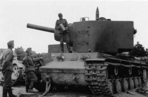 КВ-2 - кошмар для вермахта