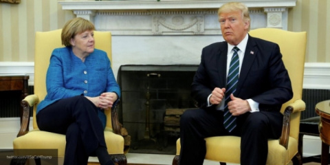 Трамп не согласен с Меркель по вопросу расходов альянса