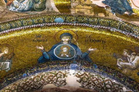 Мозаики и фрески Хоры. Экзон…