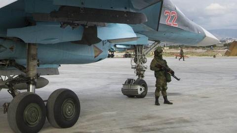 Российский Су-35 сравнял с землёй целый отряд боевиков в Сирии