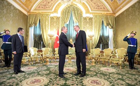 Совместная пресс-конференция с Президентом Турции Реджепом Тайипом Эрдоганом