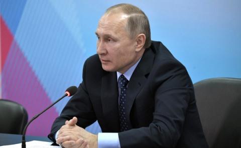 Путин: ВРоссии никогда неб…