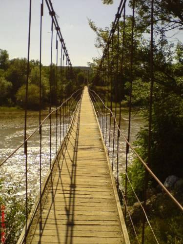Майкоп. Мост висячий.