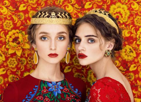 Высокая мода и славянский фольклор
