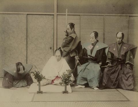 Как самураи делали харакири:…