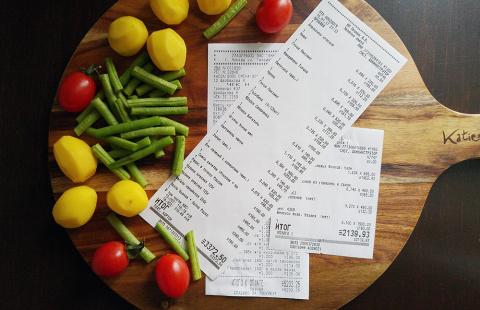 Сколько вы тратите на еду?