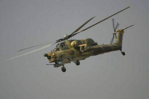 Первые учебно-боевые Ми-28УБ…