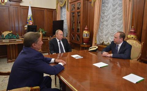 Встреча с Сергеем Ивановым и Антоном Вайно