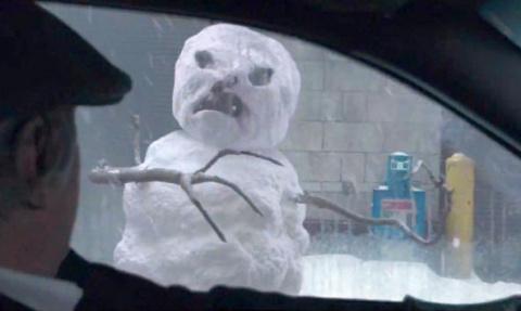 Nissan спасет от снеговиков-убийц