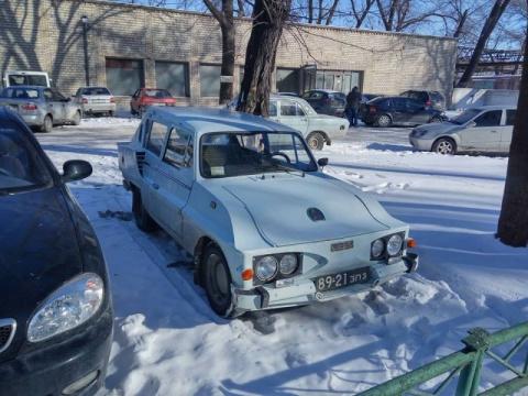 В Украине засветился неизвестный концепт-кар ЗАЗ