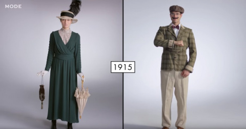 Эволюция женской и мужской м…