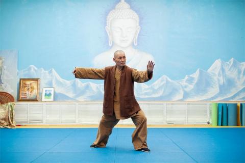 Шаолиньский монах о том, как выглядит город, если смотреть внутрь себя