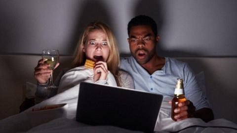 Просмотр фильмов ужасов може…