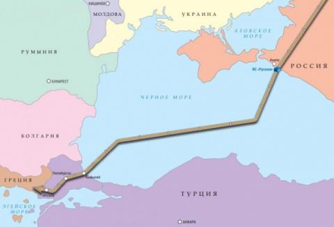 15 марта 2017 20:01 Маршрут «Турецкого потока»: Болгария снова залезла в свой карман