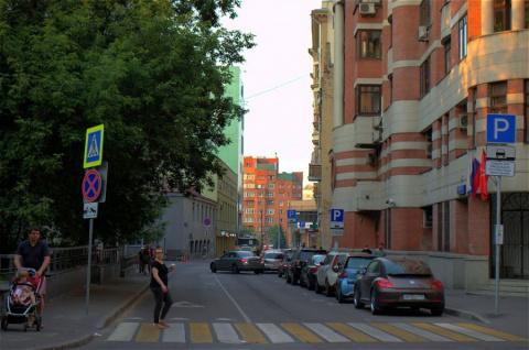 Москва, как она есть. Весковский переулок.