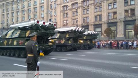 В Киеве показали «Бук-М1», к…