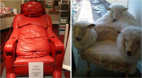 На эти кресла вы не захотите…