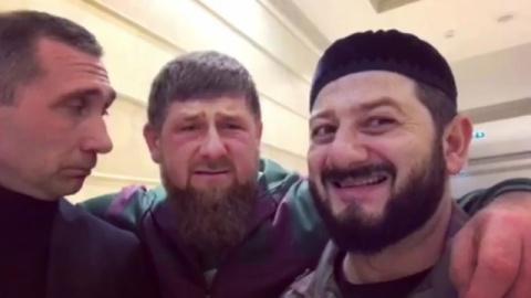 Кадыров и Галустян сняли вид…