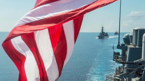 Американские ВМС дали течь. Виктор Логинов