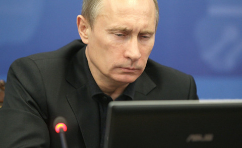 Путиномания. Путин щелкнет мышкой — и готов переворот. The Telegraph UK, Великобритания