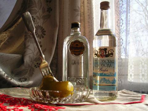 Как делали водку на Руси