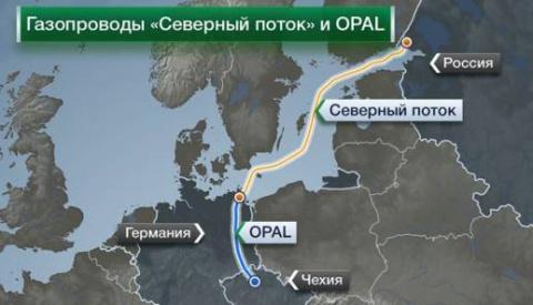 Вот и всё: ЕС одобрил поставку российского газа по газопроводу OPAL в обход Украины