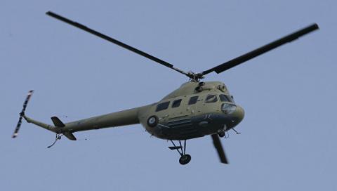 В Донбассе разбился украинский военный вертолет