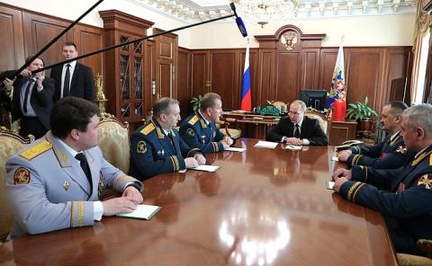 Встреча с руководством Росгвардии - НОВОСТИ НЕДЕЛИ