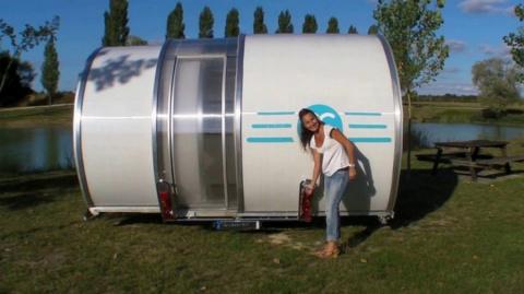 Раздвижной дом на колесах