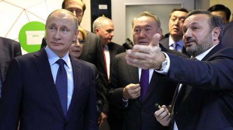 Путину и Назарбаеву рассказа…