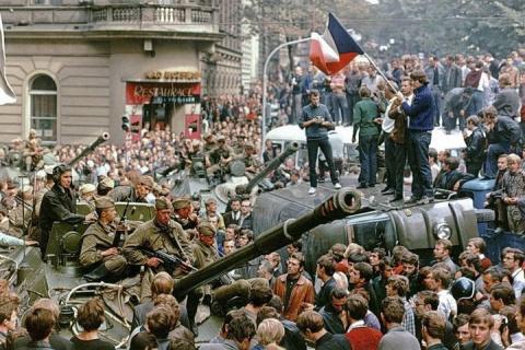 «В Чехословакии в 1968 году …
