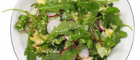 САЛАТНЫЙ ДЕНЬ. Салат из авок…