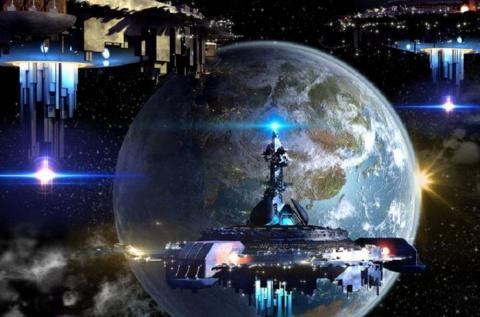 Судя по НЛО, инопланетяне контролируют всю нашу Солнечную систему