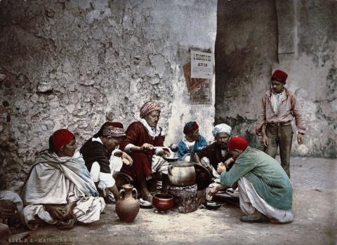 Тунис на фотохромах 1899 года