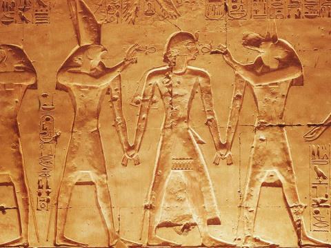 Почему египтяне изображали л…