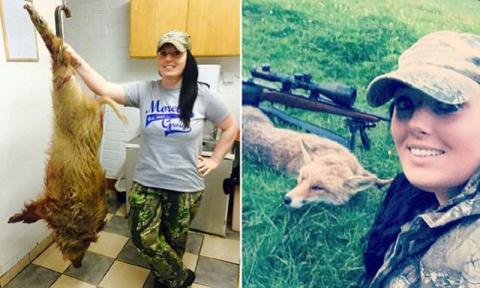 Мать-одиночка стала охотницей ради мяса и втянулась