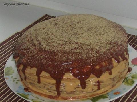 И не нужно быть шеф-поваром — простой в приготовлении и очень вкусный торт Мишутка!