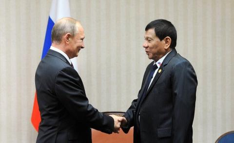 Стала известна цель визита президента Филиппин в Москву