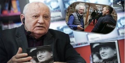 Горбачев о нападении на журн…