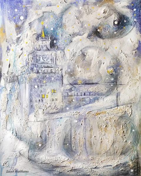 Потрясающие пейзажи московского художника Дарьи Воробьевой