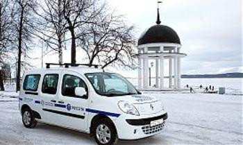 Первый в Петрозаводске электромобиль появился на улицах города