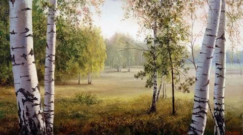 В лесу меж сосен и берёз... Евгений Бурмакин