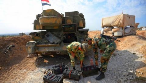 Сирийская армия заняла страт…