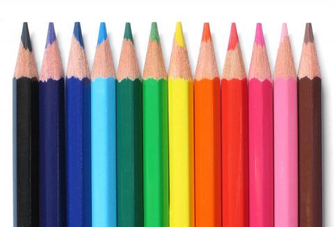 Производство карандашей на видео