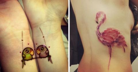 15 потрясающих татуировок пт…