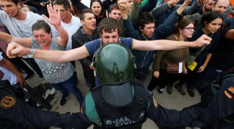 Мадрид пытается обезглавить Каталонию